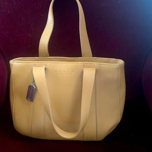 Coach Small Leather Tote